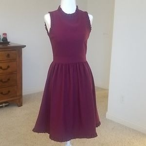 Kate Spade Ruffle Fit & Flare Dress